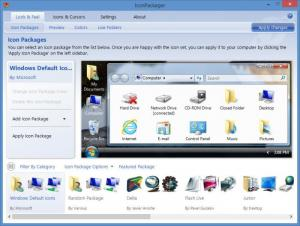 Enlarge IconPackager Screenshot