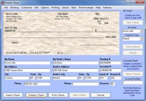 Enlarge Instant Check Screenshot