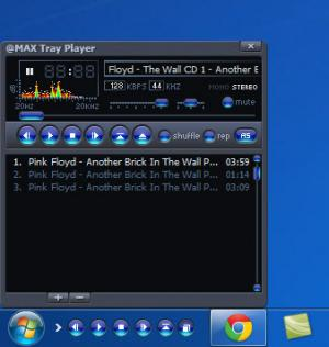 Enlarge @MAX Tray Player Screenshot