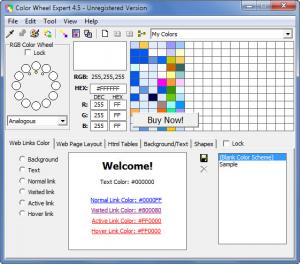 Enlarge Color Wheel Expert Screenshot