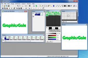 Enlarge GraphicsGale Screenshot