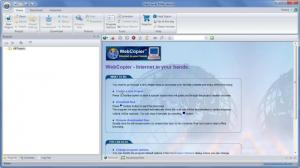 Enlarge WebCopier Screenshot