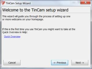 Enlarge TinCam Screenshot