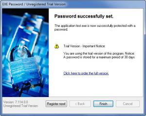 Enlarge Exe Password Screenshot