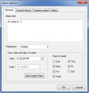 Enlarge Computer Alarm Clock Screenshot