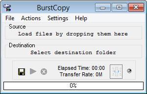 Enlarge BurstCopy Screenshot