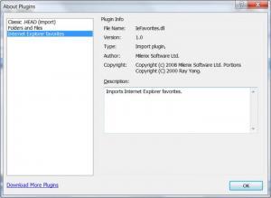 Enlarge MyInfo Screenshot