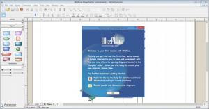 Enlarge WizFlow Flowcharter Screenshot