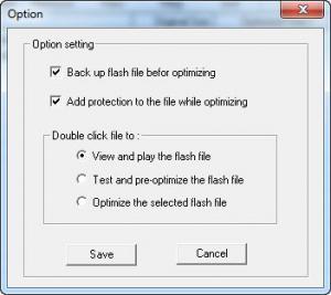 Enlarge Sparkle SWF Optimizer Screenshot
