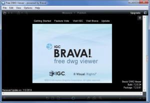 Enlarge Free DWG Viewer Screenshot