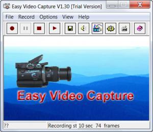 Enlarge Easy Video Capture Screenshot