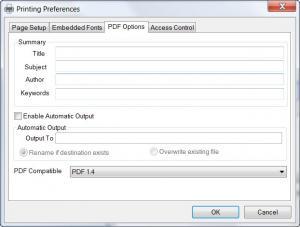 Enlarge Virtual PDF Printer Screenshot