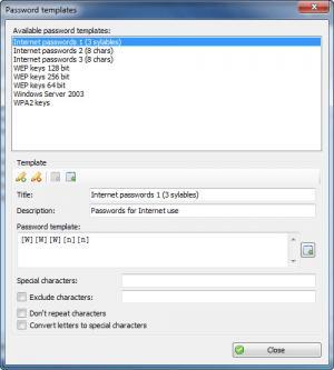 Enlarge Password Generator Screenshot