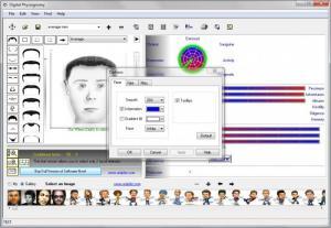 Enlarge Digital Physiognomy Screenshot