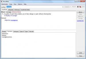 Enlarge WordWeb Screenshot