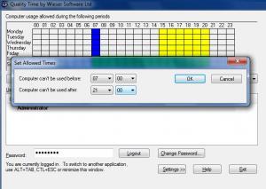 Enlarge QualityTime Screenshot