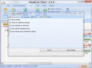Enlarge VisualCron Screenshot