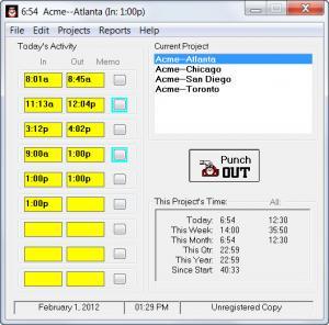 Enlarge TraxTime Screenshot