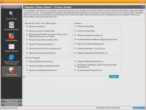 Enlarge Registry Clean Expert Screenshot