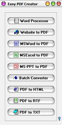 Enlarge Easy PDF Creator Screenshot