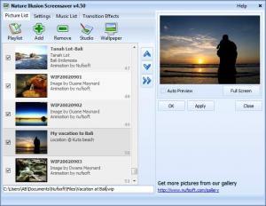 Enlarge Nature Illusion Screensaver Screenshot