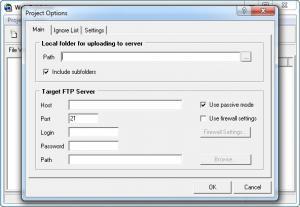 Enlarge Web Publisher Screenshot