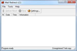 Enlarge Mail Redirect Screenshot