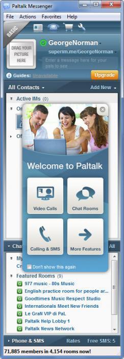 Enlarge Paltalk Messenger  Screenshot