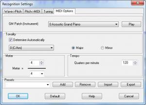Enlarge WIDI Recognition System Pro Screenshot