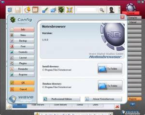 Enlarge Notesbrowser Screenshot