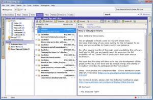 Enlarge Omea Screenshot