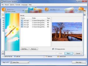 Enlarge ReaConverter Screenshot