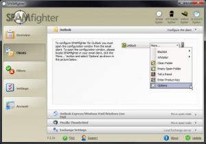 Enlarge SPAMfighter Screenshot