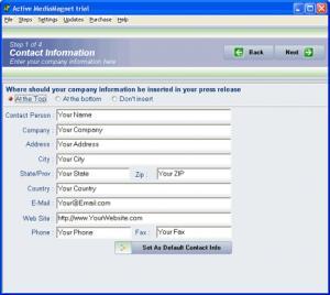 Enlarge Active MediaMagnet Screenshot