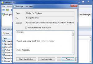 Enlarge MailBell Screenshot