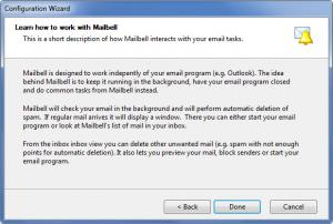 Enlarge MailBell Screenshot