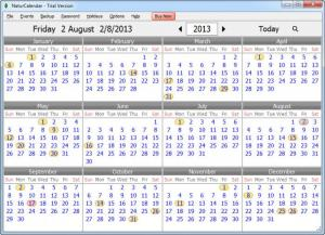 Enlarge NaturCalendar Screenshot