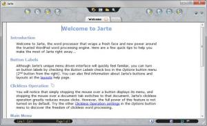 Enlarge Jarte Screenshot