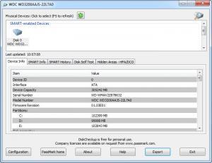 Enlarge DiskCheckup Screenshot