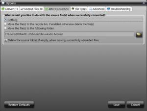 Enlarge MuvAudio Screenshot