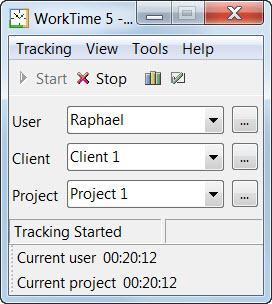 Enlarge WorkTime Professional Screenshot