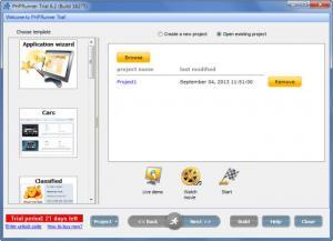 Enlarge PHPRunner Screenshot
