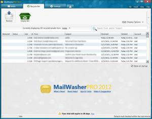 Enlarge MailWasher Pro Screenshot