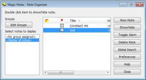 Enlarge Magic Notes Screenshot