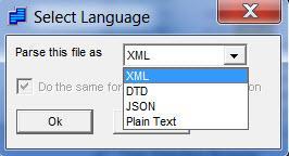 Enlarge XML Marker Screenshot