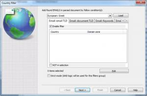Enlarge Advanced Email Extractor Screenshot