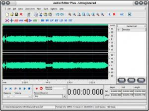 Enlarge Audio Editor Plus Screenshot