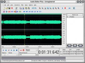 Enlarge Audio Editor Plus Screenshot