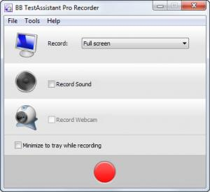 Enlarge BB TestAssistant Pro Screenshot