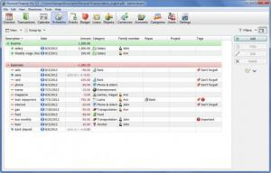 Enlarge Personal Finances Screenshot